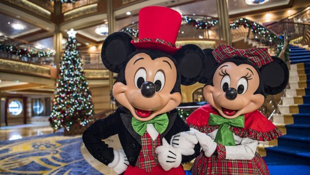 very merrytime cruises return to disney cruise line this holiday season with festive fun for the whole family