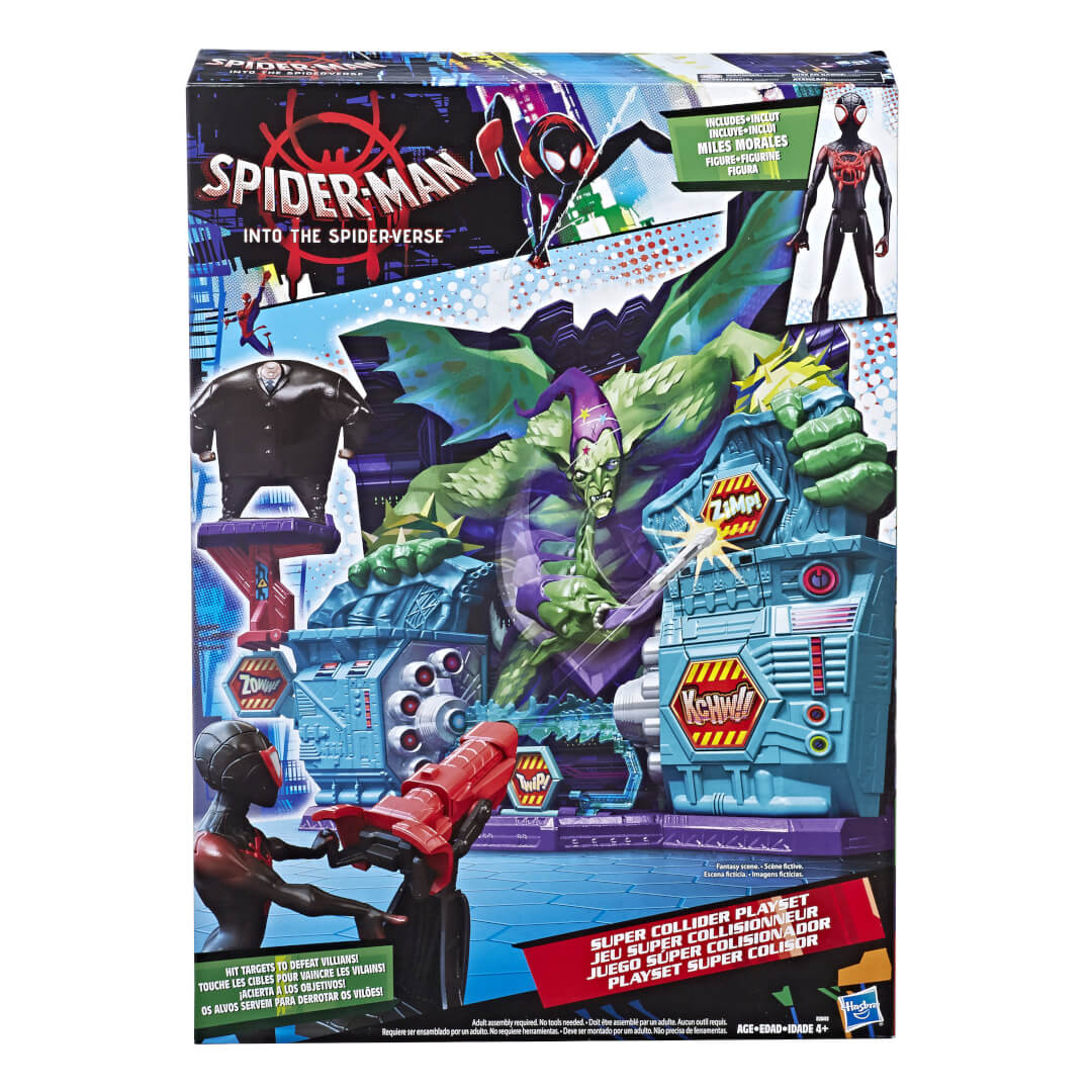 Into The Spider Verse Villains Revealed Via Toys Spoilers Resetera