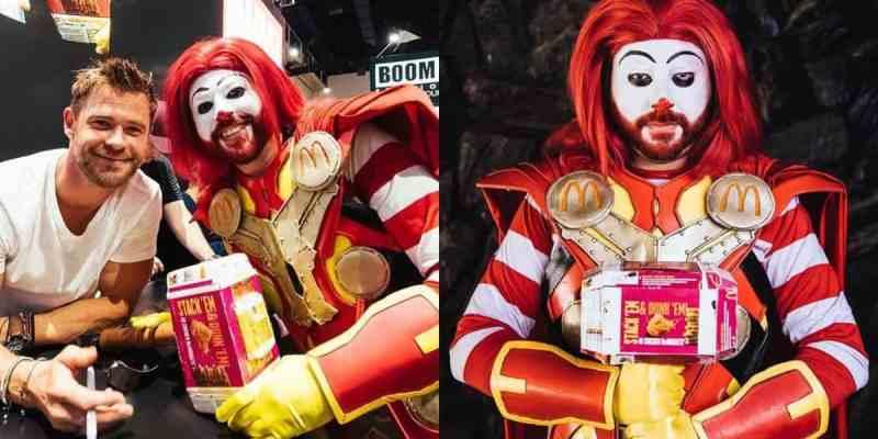 disneyland mickeyshalloweenparty halloweencostumes hueydeweyandlouie disneylandap source mcthor fast food s mightiest superhero inside the magic
