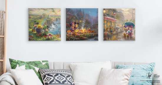 GIVEAWAY: Thomas Kinkade Studios Disney Art   Inside the Magic