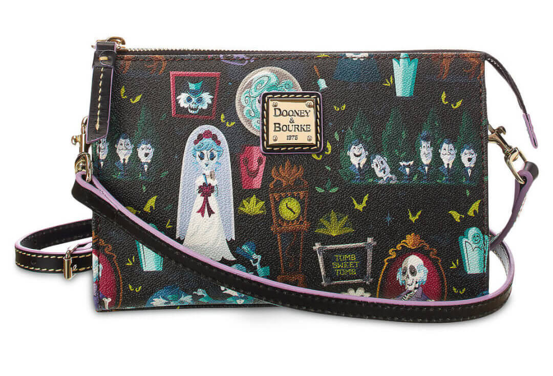 New Haunted Mansion Collection From Dooney Amp Bourke Features Disney S Grim Grinning Ghosts