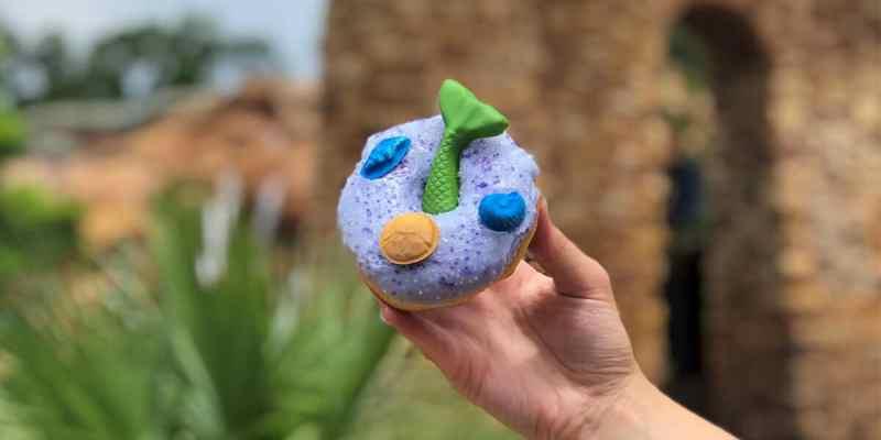 mermaid-inspired donut