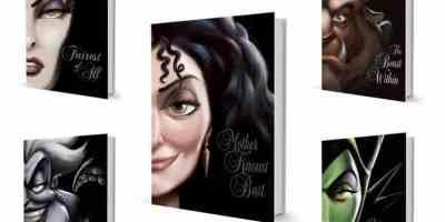 VILLAINS book set