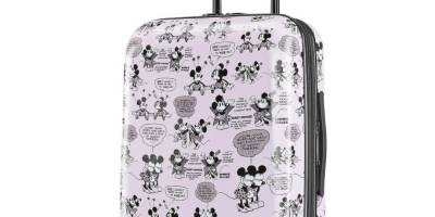 Disney rolling luggage