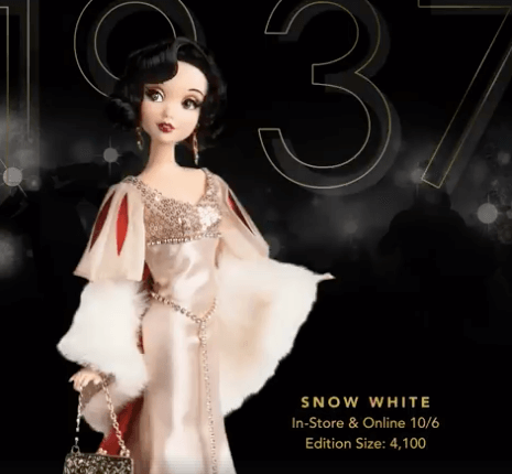 Disney Designer Snow White Doll