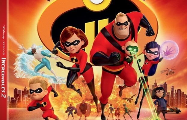 Incredibles 2 home release