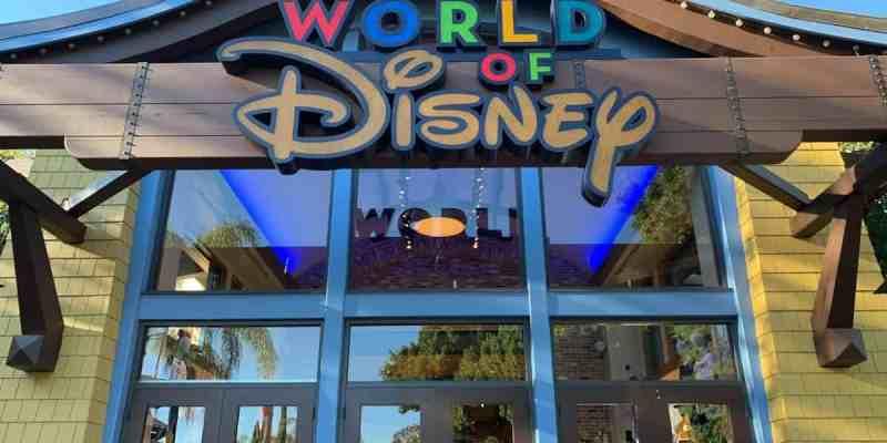 World of Disney exterior