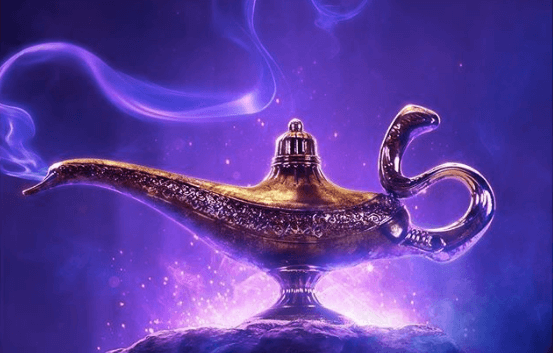 First teaser poster for Disney's live-action Aladdin