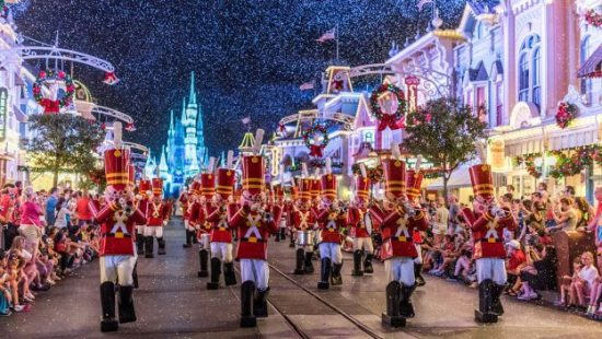 disney christmastime package