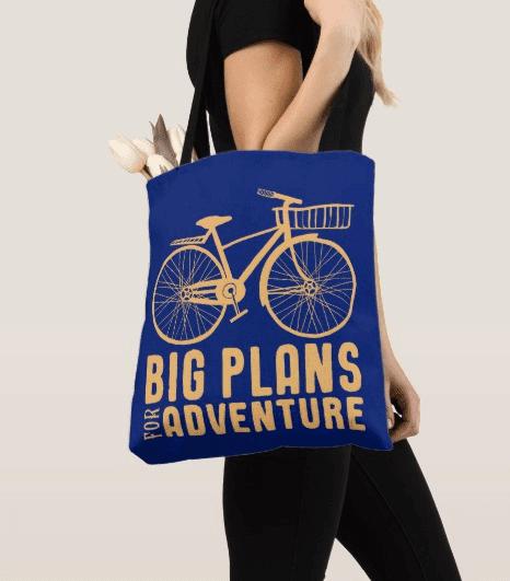 Big Plans for Adventure Tote Bag