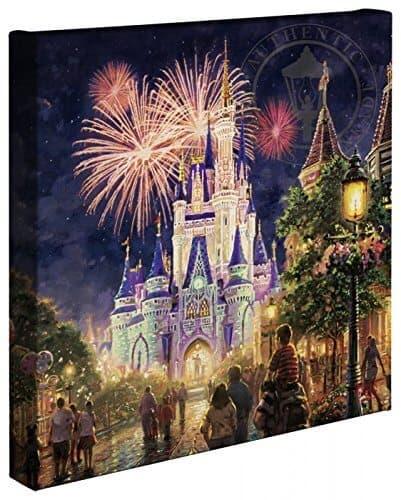 Thomas Kinkade Disney Art