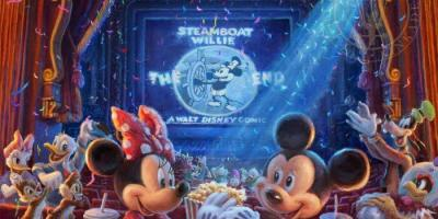 Thomas Kinkade Disney art - 90 Years of Mickey