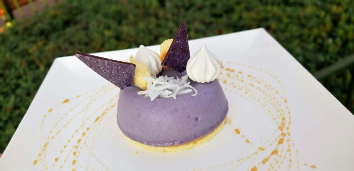 Sweet Potato Mousse at Epcot Festival of the Arts