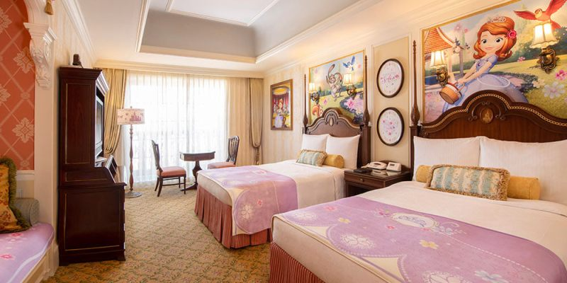 "Gorgeous Tangled Themed Guest Rooms At Tokyo Disneyland: Tokyo Disney Resort Announces ""Sofia The First""-themed"