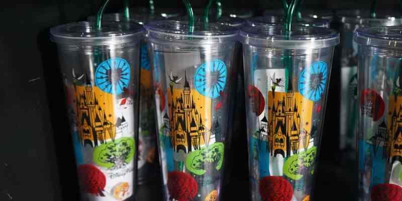 Disney Parks Starbucks tumblers