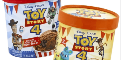 'Toy Story 4' Ice Cream Flavors From Edy's Are About To Hit Shelves