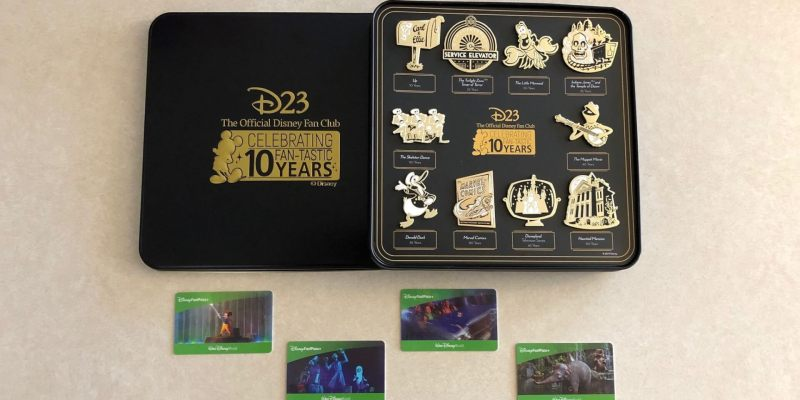 D23 Gold Member Gift & Walt Disney World water park tickets