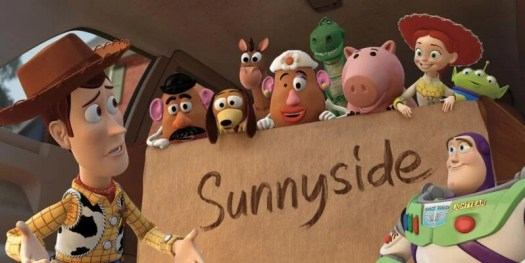 toy story 3 andy's toys in sunnyside box