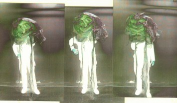 Jefre in his Easter Bonnet / Plastic Man in the Sub-Basement (part II) 2, Jefre Harwoods. 2012