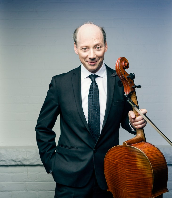 Clive Greensmith professor of chamber music and cello at Colburn School
