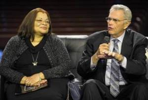 Alveda King and James Robison