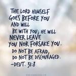 Deuteronomy 31:8, old testament bible scriptures