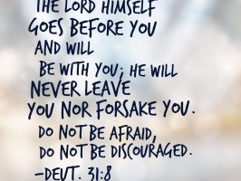Deuteronomy 31:8, old testament bible scriptures