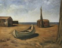 Carlo Carrà, autunno al mare