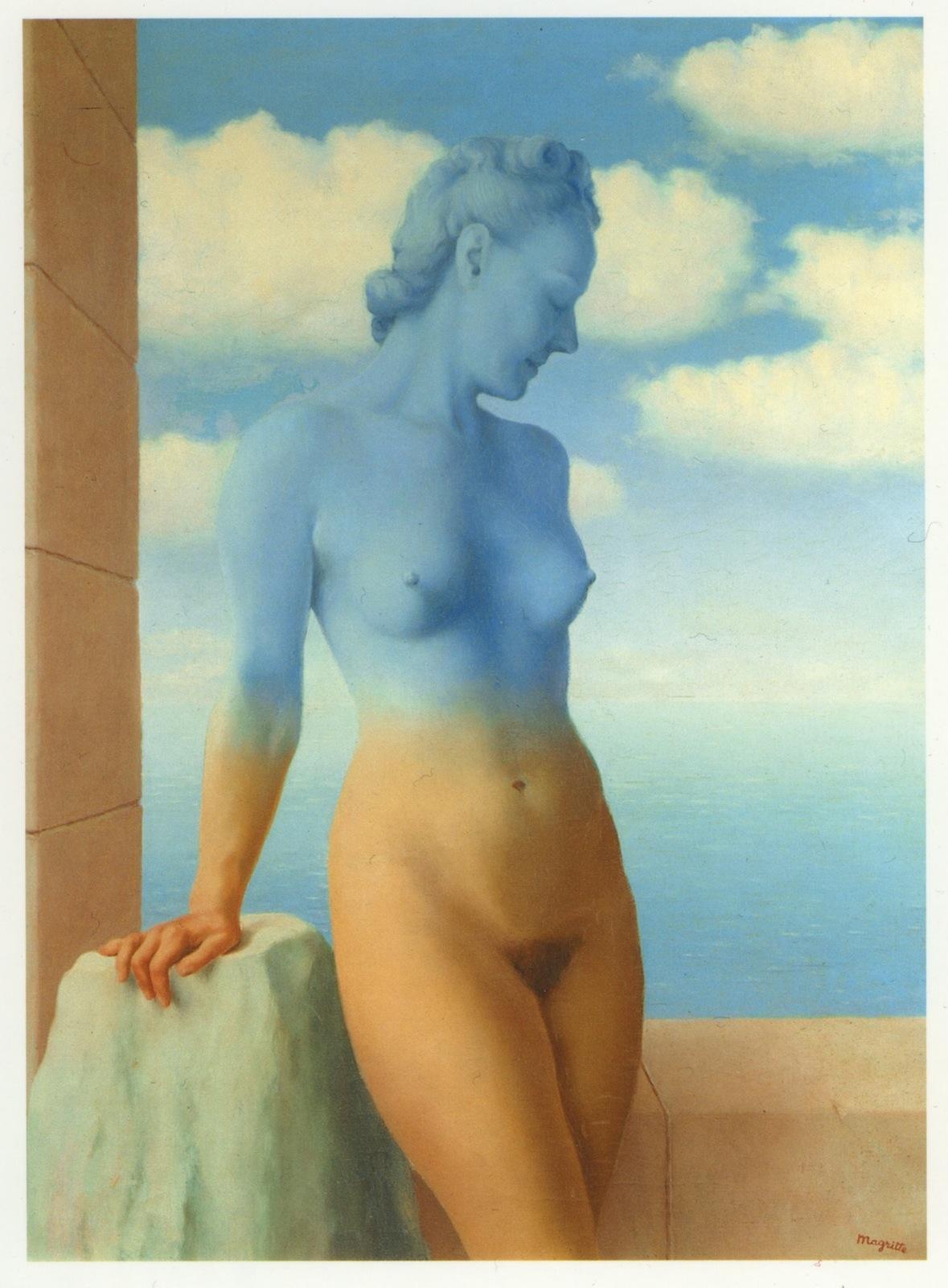 Magritte, donna