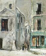 Maurice Utrillo-La Belle Gabrielle, Montmartre, 1912