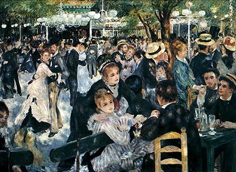 Pierre-Auguste Renoir, Bal au moulin de la Galette, 1876