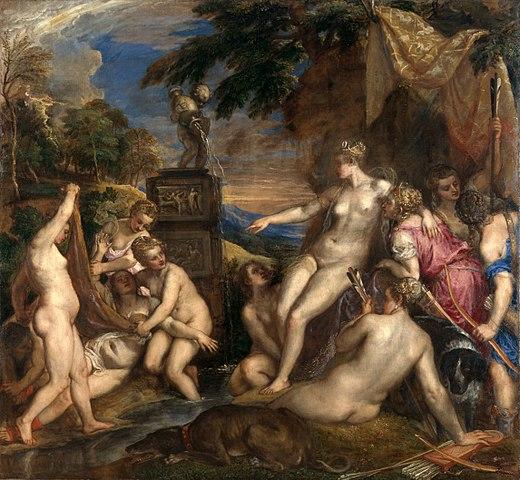 Tiziano Diana e Callisto 1556-1559