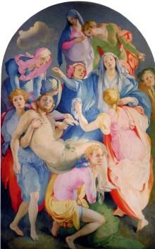 Deposizione di Cristo di Jacopo Pontormo anche detta Deposizione di Santa Felicità dal nome della chiesa fiorentina in cui si trova
