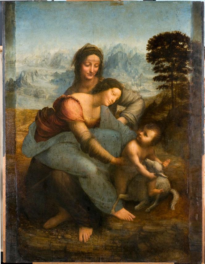 Leonardo da Vinci, Madonna col bambino e sant'Anna (detto la Sant'Anna)