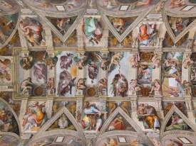 Volta della Sistina, Michelangelo Buonarroti