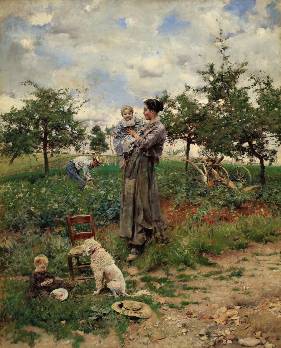 Boldini Giovanni_A la campagne,1872