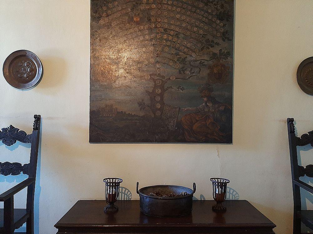 insidethestaircase castello malaspina fosdinovo interno circa albero genealogico ph elettra nicodemi allrightsreserved