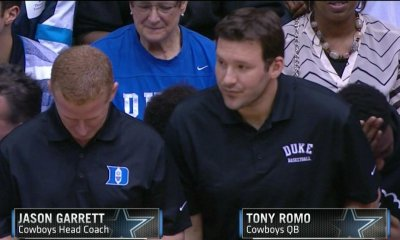 Cowboys Blog - Tony Romo Visits Duke 1