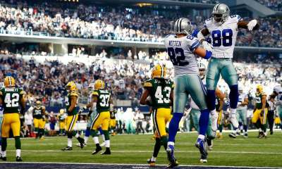 Jason Witten, Dez Bryant, Packers