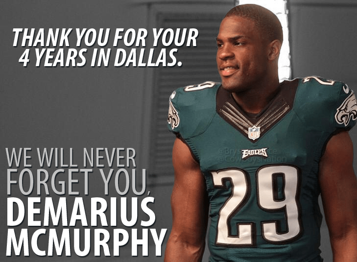 Cowboys Blog - DeMarco Murray Showed Out In An Eagles Jersey