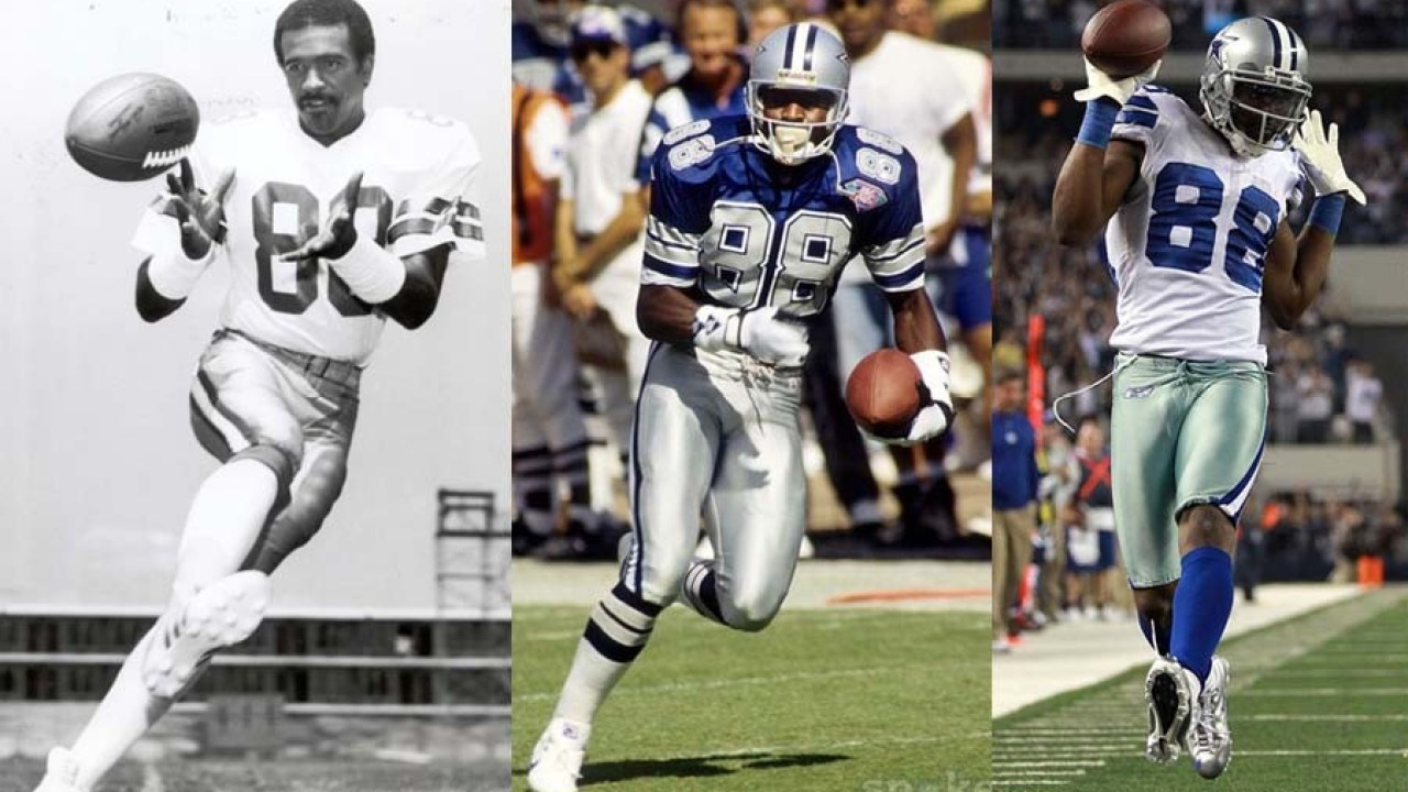 88 Michael Irvin Tops Drew Pearson And Dez Bryant As Best
