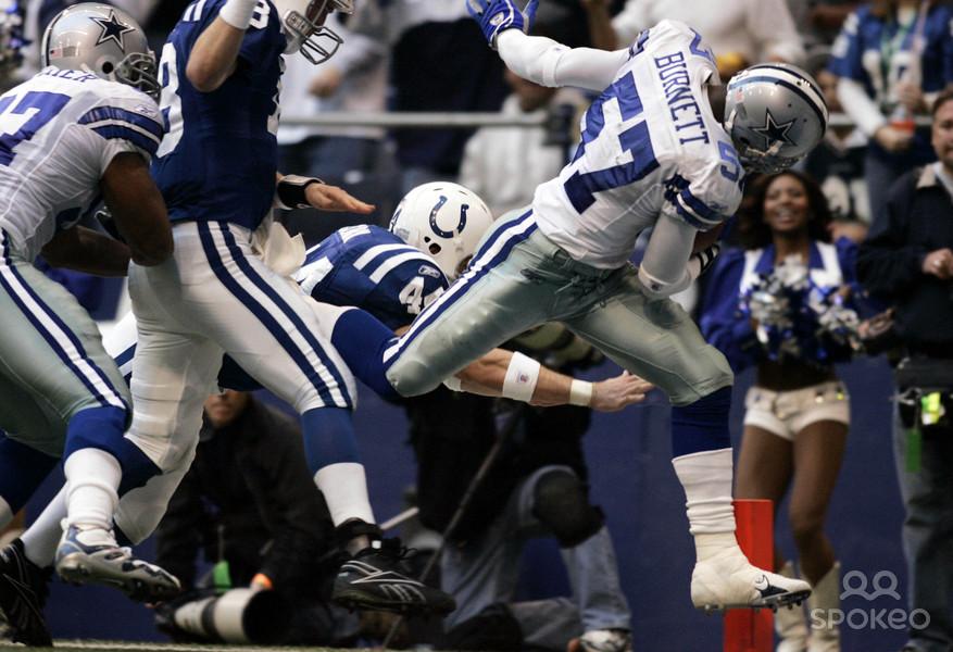 Cowboys Blog - Pick Six Scores Kevin Burnett #57 4