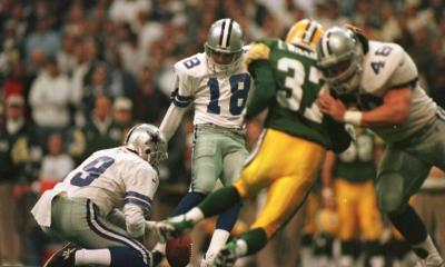 Cowboys Blog - Cowboys CTK: Chris Boniol Kicks #18 Through The Crossbars