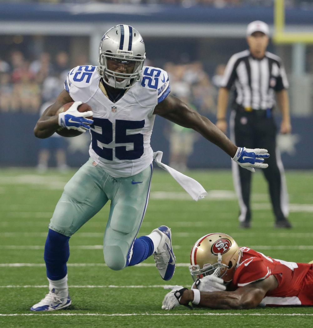 Cowboys Blog - Cowboys Gameday: All Eyes on the Running Backs in San Francisco 3