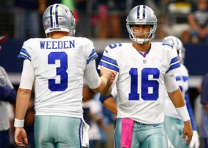 """Cowboys Blog - Cowboys """"Highly Likely"""" to Make QB Change During Bye Week"""