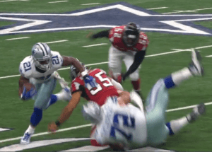 Cowboys Blog - Randle Scores, Scores, And Scores In Cowboys Best Plays Against Falcons 1
