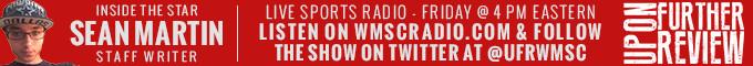 News & Notes - Upon Further Review Returns to WMSCRadio.com