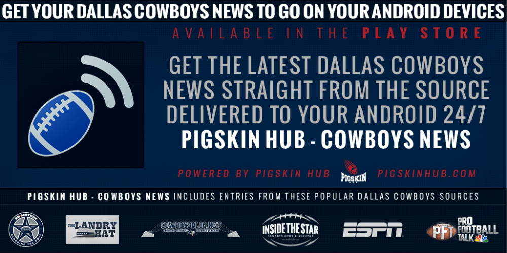 News & Notes - Need A Good Cowboys News App For Android? Found One!
