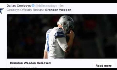 Cowboys Blog - [VIDEO] Remembering Brandon Weeden 3