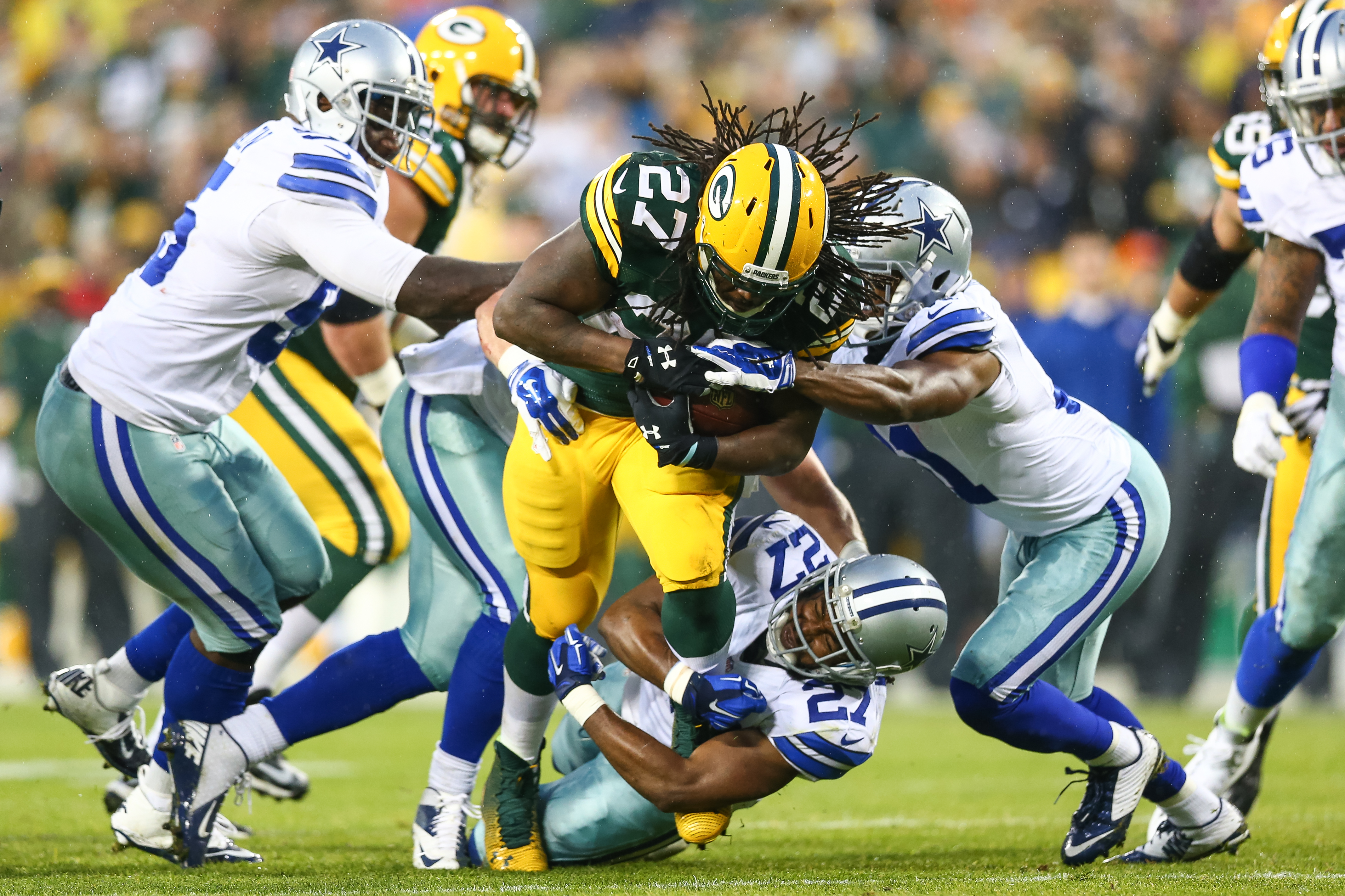 934fd64c2 Does Eddie Lacy Own The Dallas Cowboys? ✭